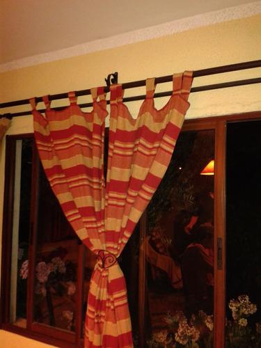 broches para cortinados  en hierro forjado