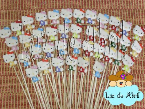 brochettes para golosinas, souvenirs, porcelana fria