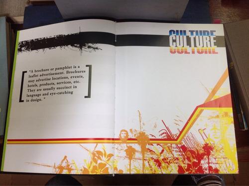 brochures - diseño gráfico. (en inglés)