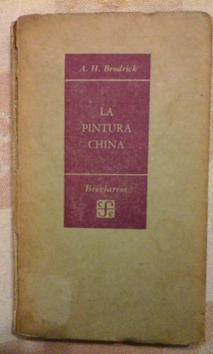 brodrick. la pintura china