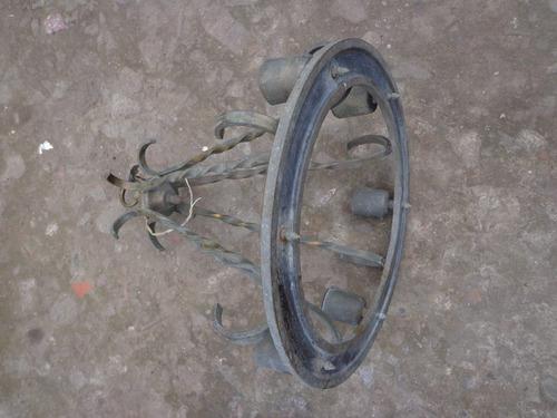 bronce antigua araña