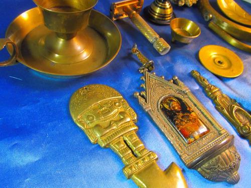 bronce candelabro adorno