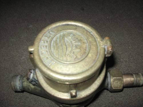 bronce macizo antiguo contador de agua utrecht mb estado