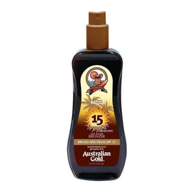Bronceador Spf 15 Spray Gel