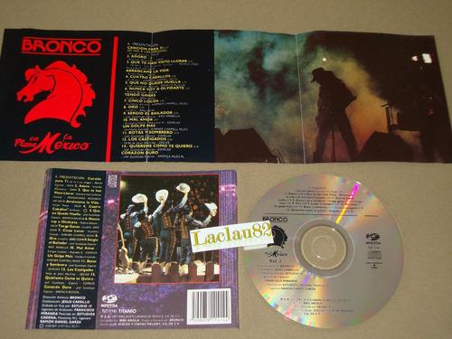bronco en la plaza mexico vol 1 - 1993 musivisa cd