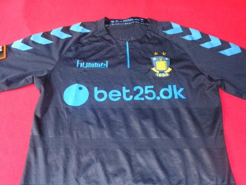 brondby dinamarca jersey futbol soccer de juego