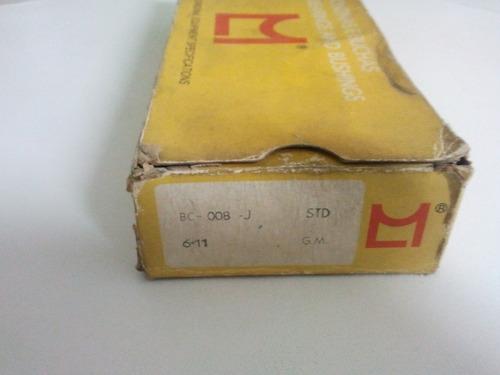 bronzina de  mancal chevrolet brasil - std
