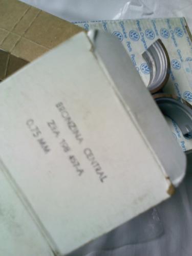 bronzina mancal santana motor 1.8 2.0 casquilho 0,75 origina