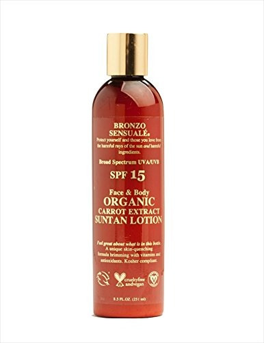 bronzo sensual? spf 15 crema protectora solar loción tanni