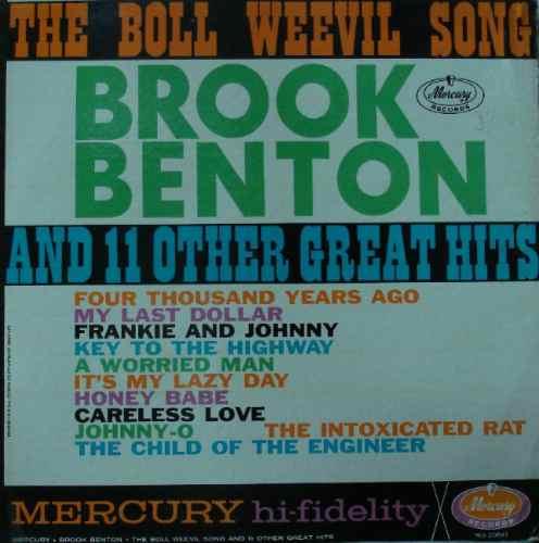 brook benton  the boll weevil song - lp mercury importado