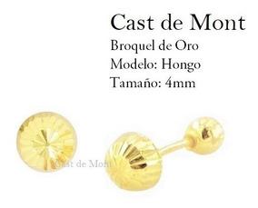 a034d5cfe75 Aretes Broqueles De Oro 10k Mod 1106a Sin Piedras - Aretes en Mercado Libre  México