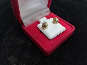 c53cb789c920 Broquel Hongo Oro 10k - Aretes Oro en Mercado Libre México
