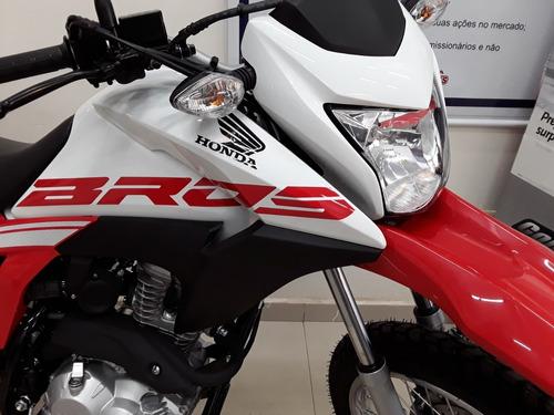 bros 160 flex - freios a disco c/ cbs - partida eletrica