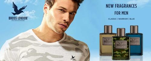 bross london blue edt 100ml + desodorante perfume hombre