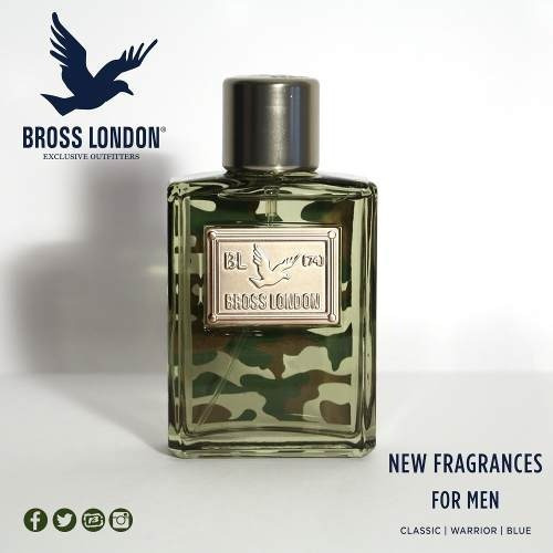 bross london warrior perfume edt 100ml exclusive outfitters