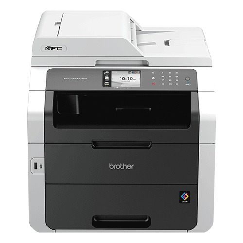 brother mfc-9330cdw - 22 ppm, a4, led, 333 mhz, 192 mb, 9,3