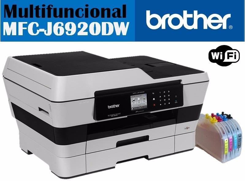 Brother Mfc J6920 Dw Doble Carta C Sistema De Tinta