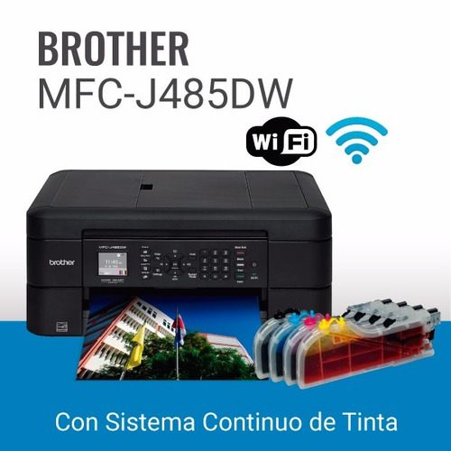 brother mfc485dw con sistema continuo de tinta