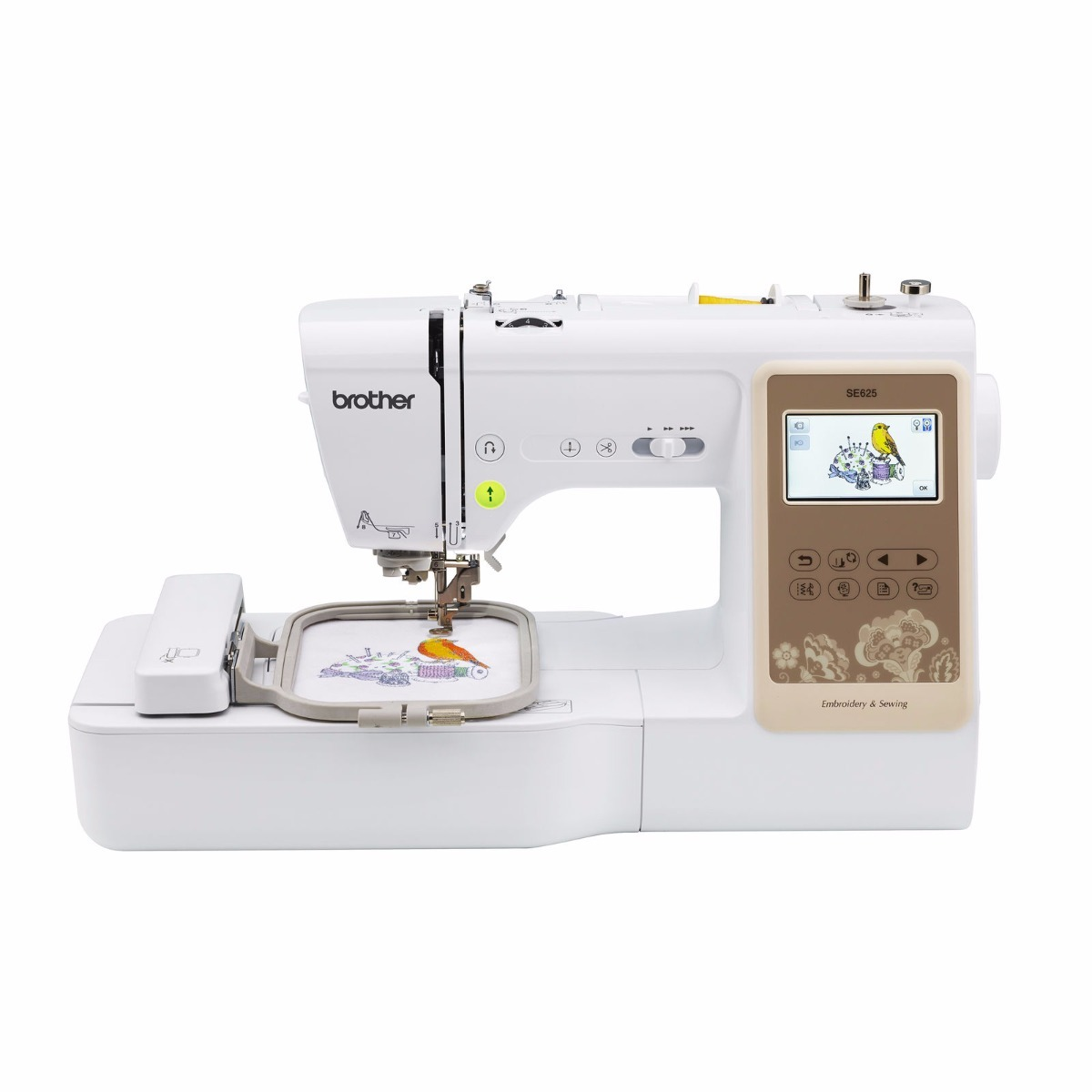 Brother Se625 Bordadora Coser 280 Diseños103 Puntadas 10x10w ...