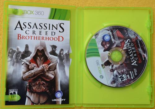 brotherhood xbox 360 assassin's creed