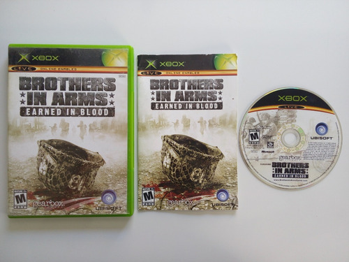 brothers in arms earned in blood xbox clásico garantizado