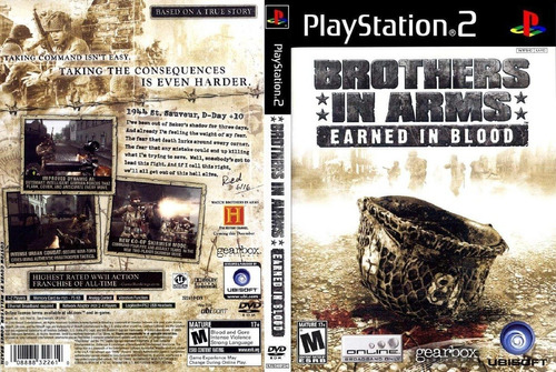 brothers in arms earned - patch ps2 - completo