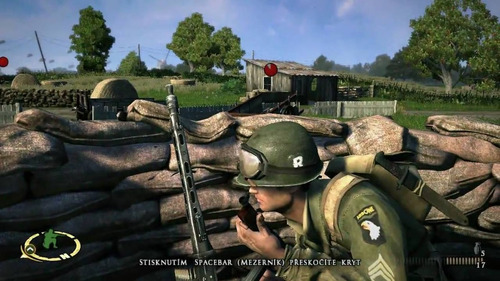 brothers in arms hells highway pc.juego fisico.