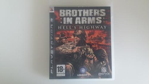 brothers in arms  ps3 - midia fisica com garantia