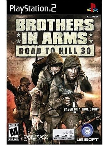 brothers in arms: road to hill 30 - playstation 2 up shop