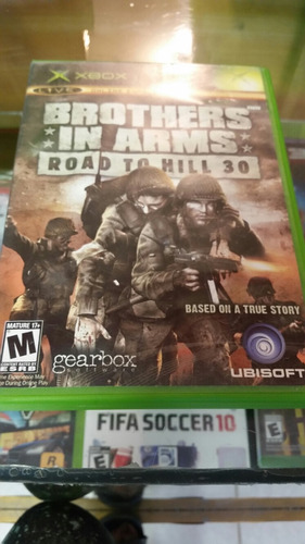 brothers in arms xbox clasico.
