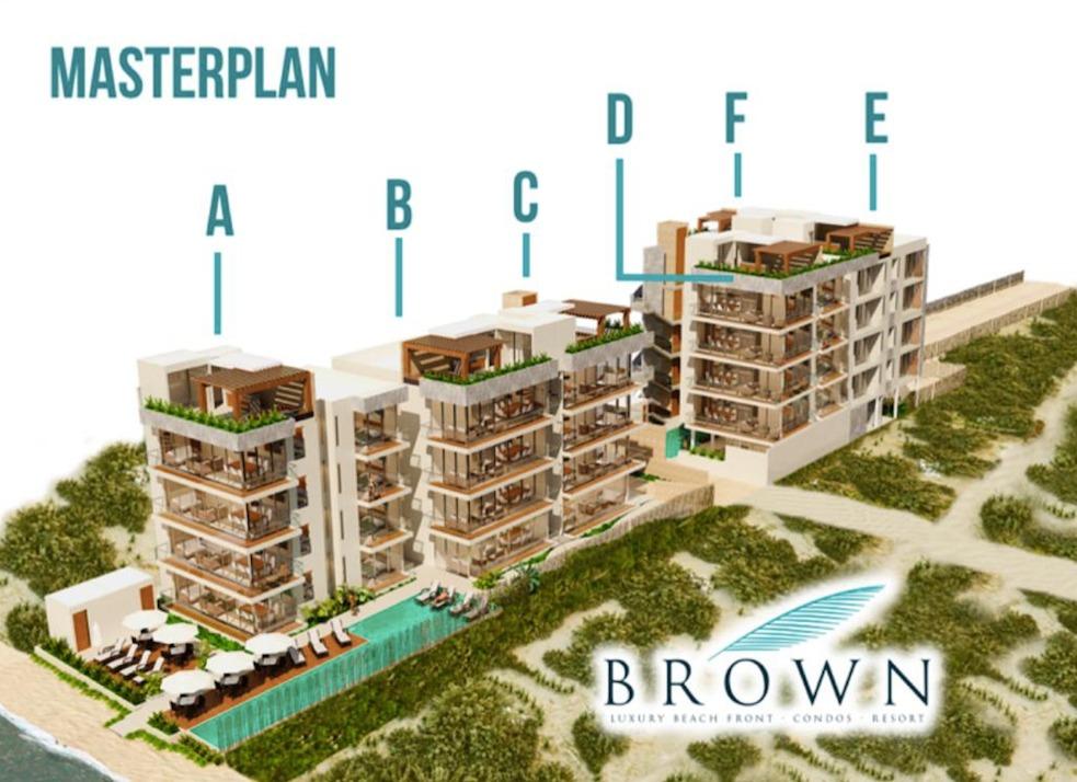 brown departamentos frente al mar