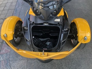 brp can am spyder rs 2010/2010 gasolina unico dono