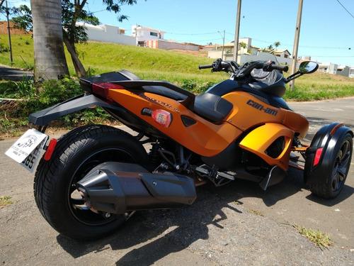 brp can-am spyder rss 990 2013 laranja novíssima!!!