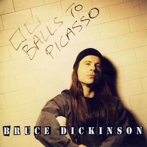 bruce dickinson / balls to picasso / cd doble / europeo
