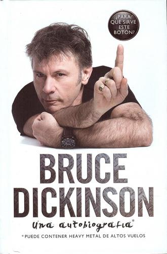 bruce dickinson libro ¿para que sirve este boton ? stock !!