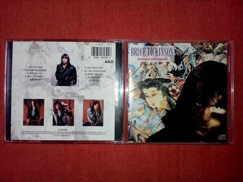 bruce dickinson - tattooed millionaire cd usa ed 1990 mdisk