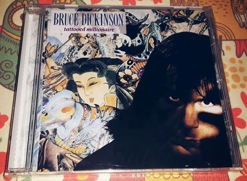 bruce dickinson - tattooed millionare (remastered)