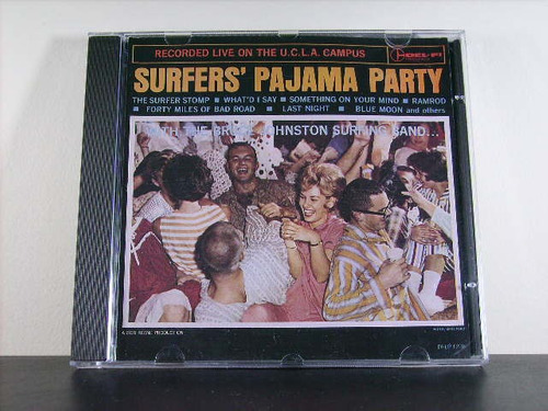 bruce johnston surfing band surfers pajama party cd imp av8