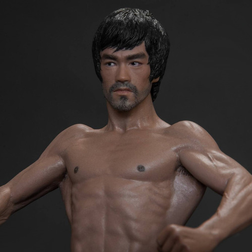 bruce lee martial artist storm collectibles - robot negro