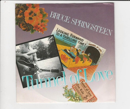 bruce springsteen 1987 tunnel of love - compacto ep 21