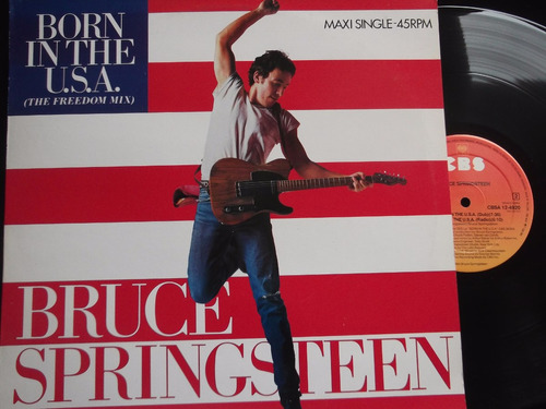 bruce springsteen born in the usa (freedom mix) holland