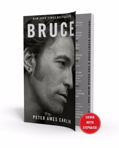 bruce springsteen libro-ny times bestselling biography nuevo