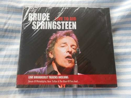 bruce springsteen live to air cd duplo original lacrado