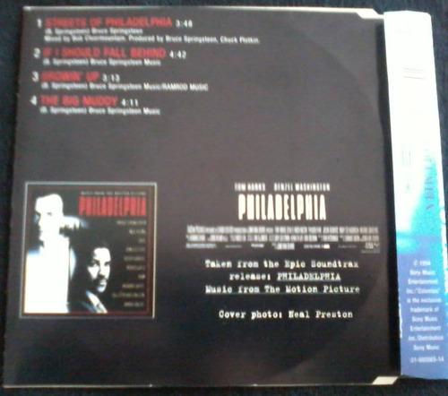 bruce springsteen - streets of philadelphia cd 1er ed. rock