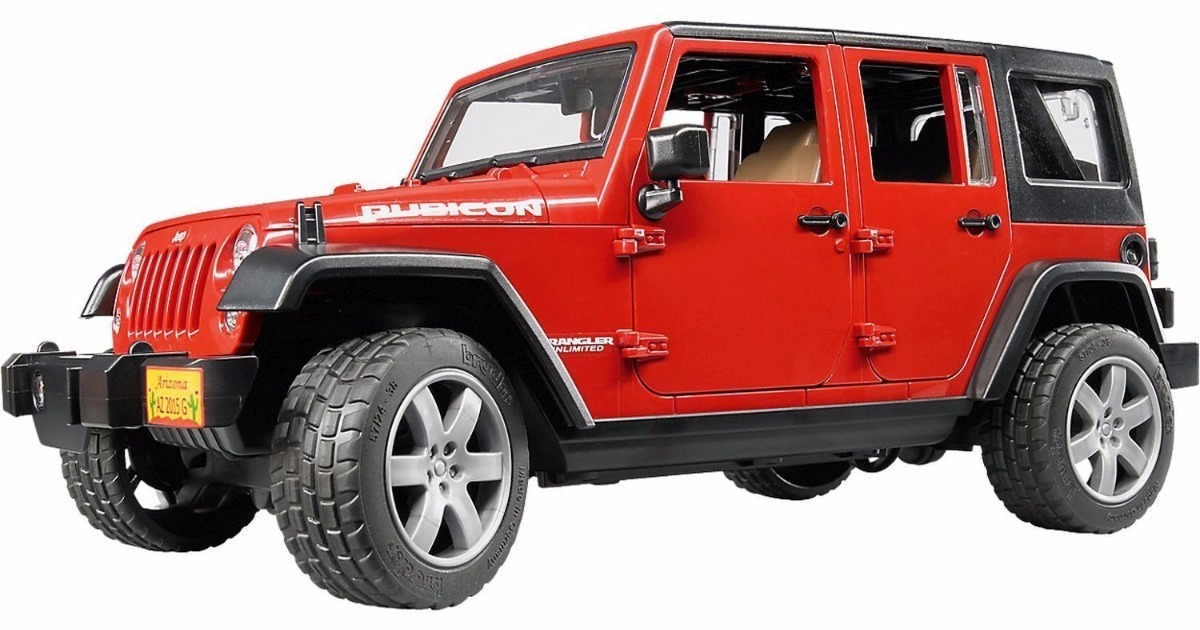 Elegant ... Jeep Wrangler Unlimited Rubicon   Red 1/16. Carregando Zoom.