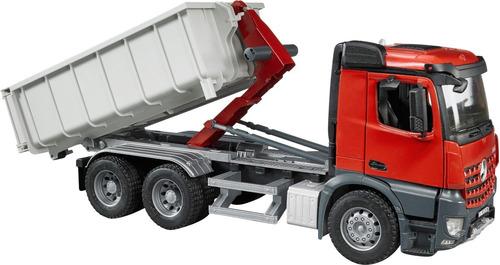 bruder 3622 bru camión mb arocs con contenedor escala 1:16