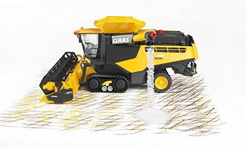 bruder claas lexion 780 cosechadora amarilla