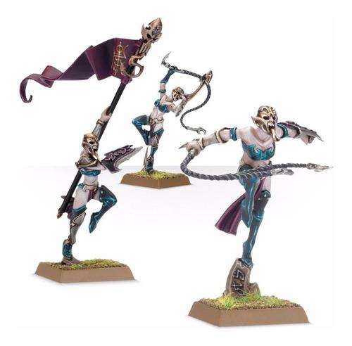 brujas elfas elfos oscuros warhammer age of sigmar