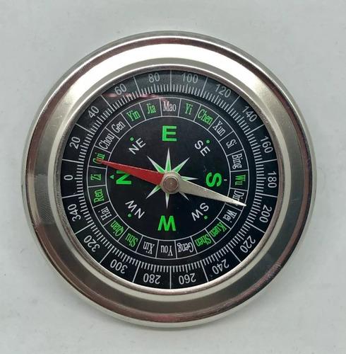 brujula compass de bolsillo ideal camping x mayor x 10 unidades, mania-electronic