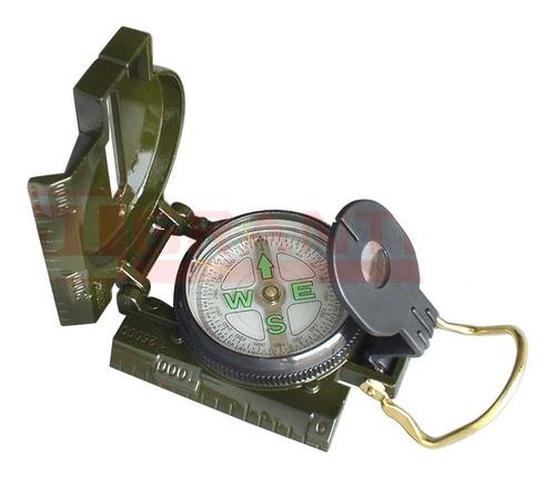 brujula lensatica tipo militar con tapa